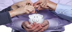 Donativos em dinheiro para instituições reconhecidas