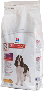 HILL´S SCIENCE PLAN Advanced Fitness Adult Medium with Chicken | Ração para cão | Lista de resultados | Testes DECO PROTESTE